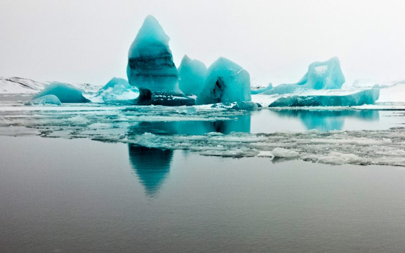 Icebergs de Jokulsarlon et parc de Skaftafell
