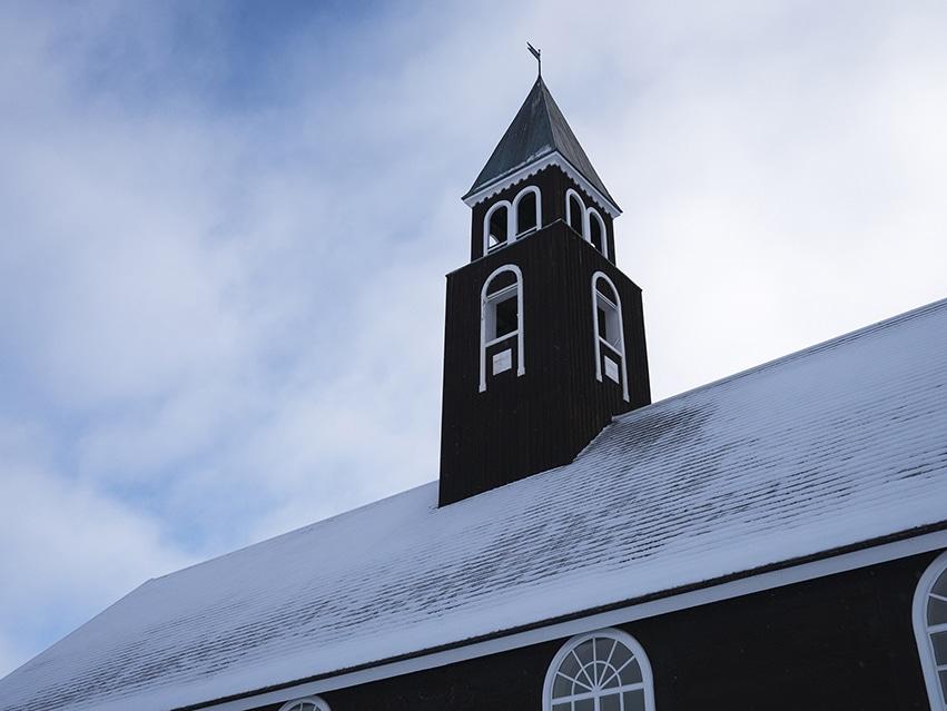 Ilulissat clocher église