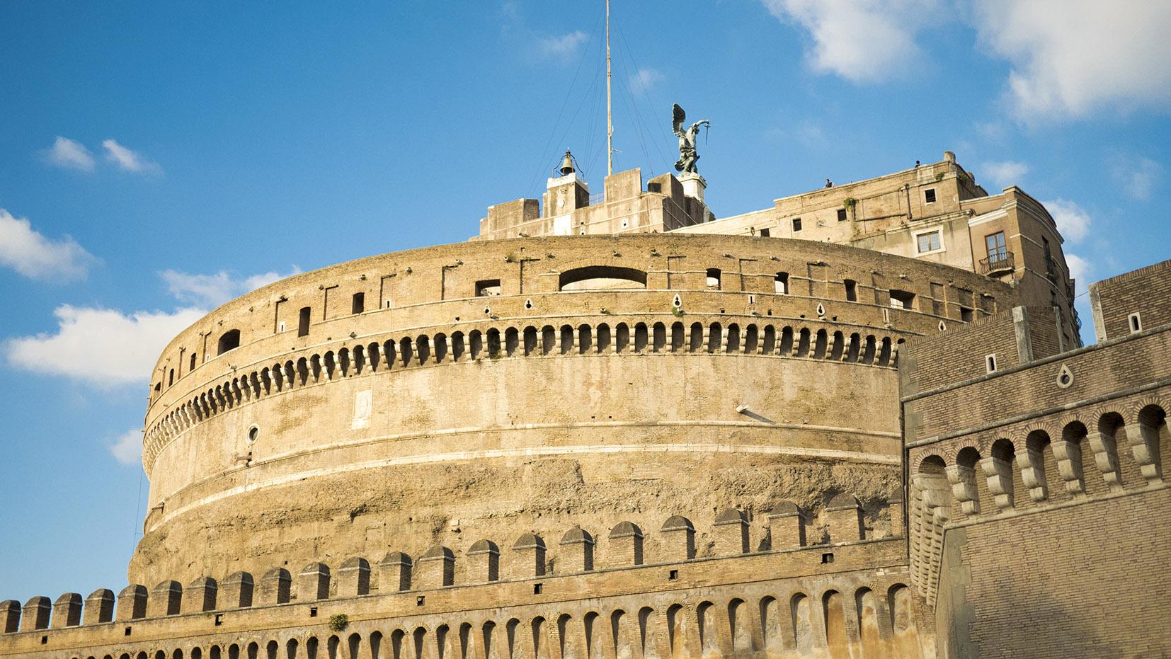 Chateau San Angelo Rome en 3 jours