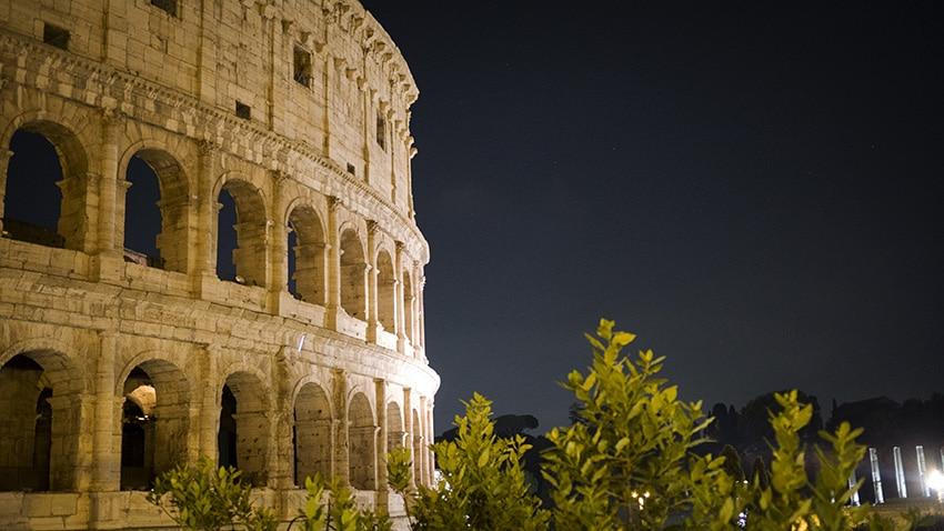 Colisee Rome en 3 jours nuit