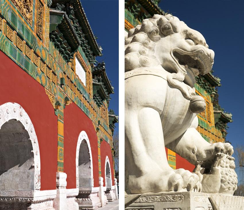 Cité interdite dragon parc de Beihai