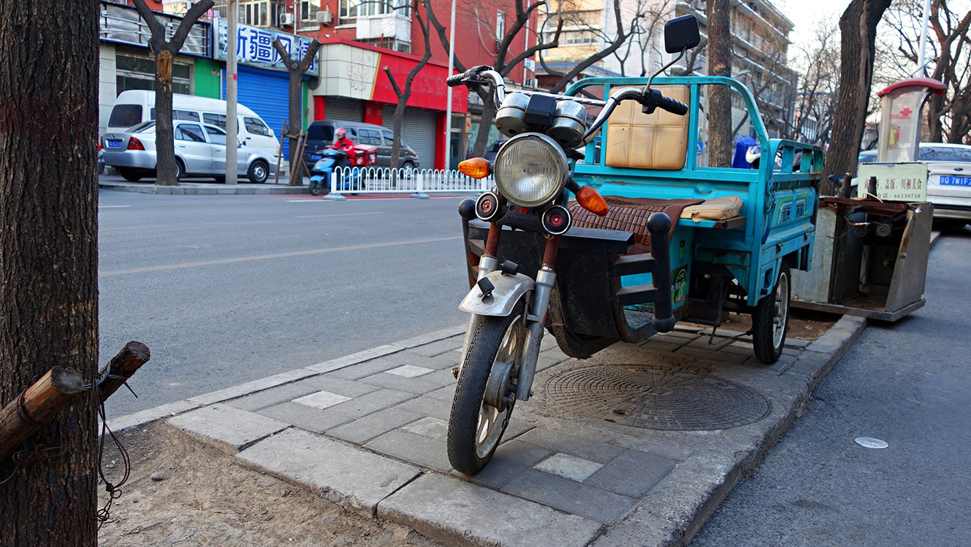 Rue transports Pékin