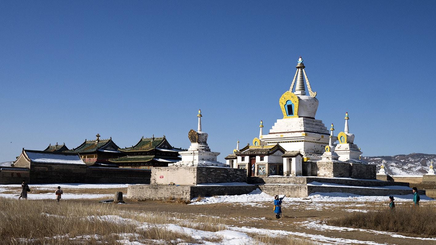 Erdene Zuu Karakorum palais Mongolie