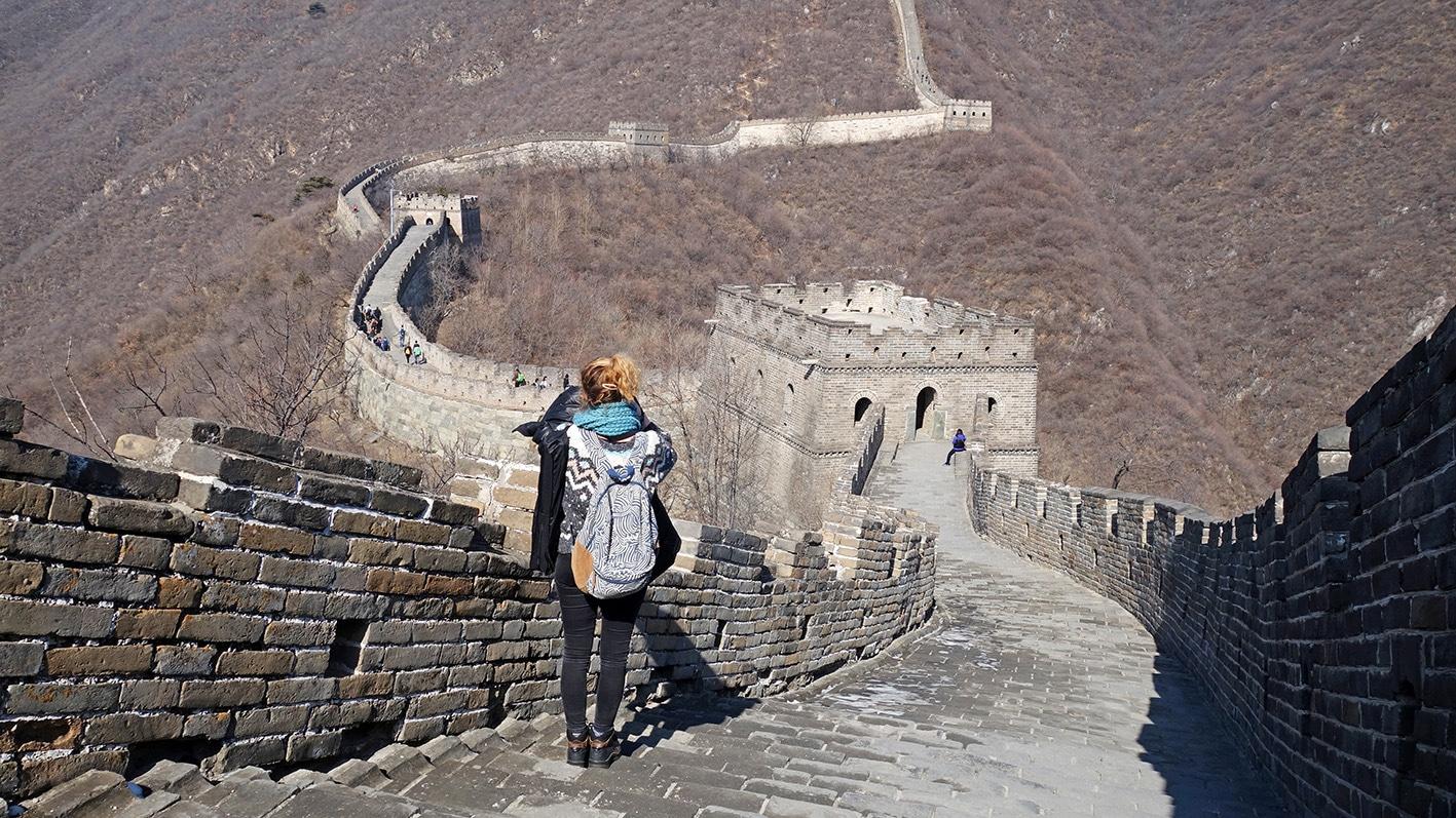 Muraille de Chine Mutianyu Pékin