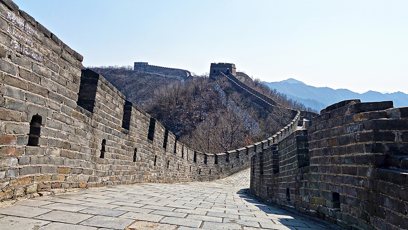 Pékin Mutianyu muraille de Chine