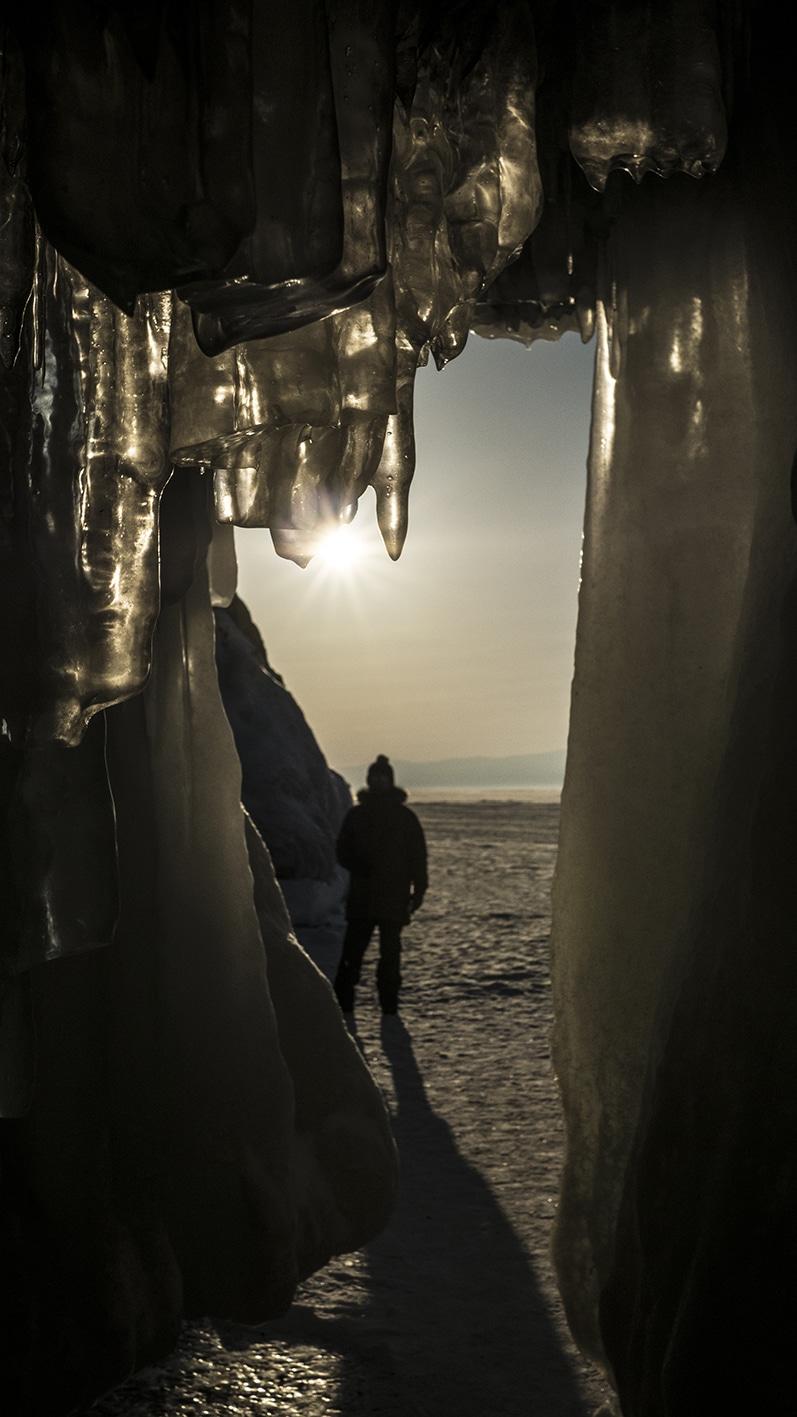 Grotte lac Baïkal