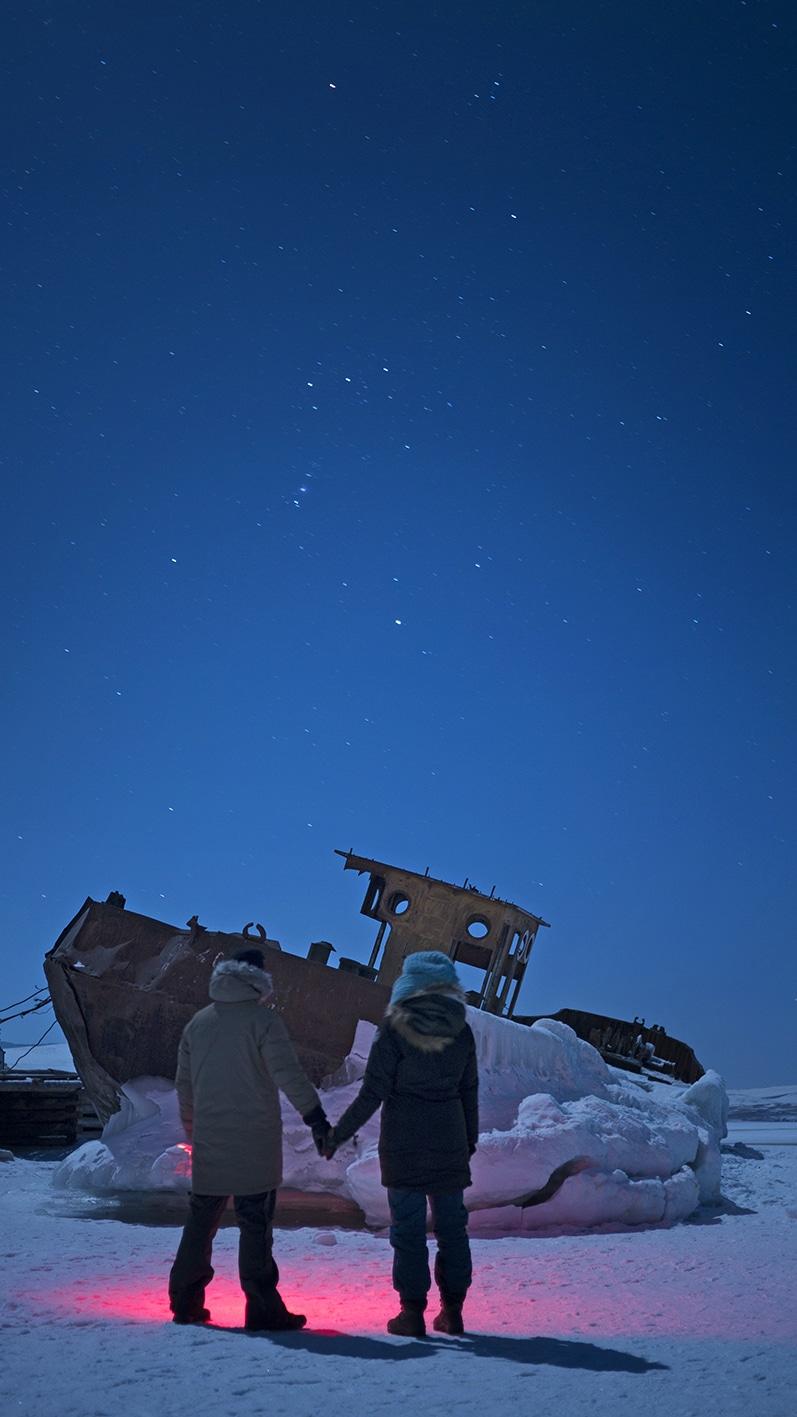 Ile Olkhon perle de Sibérie bateau nuit