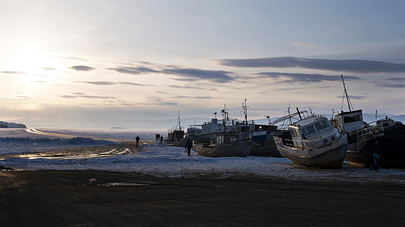 cimetière bateaux Olkhon