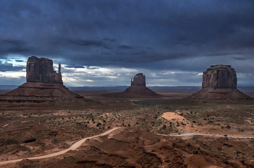 Monument Valley, chevauchée dans la Vallée des Rocs