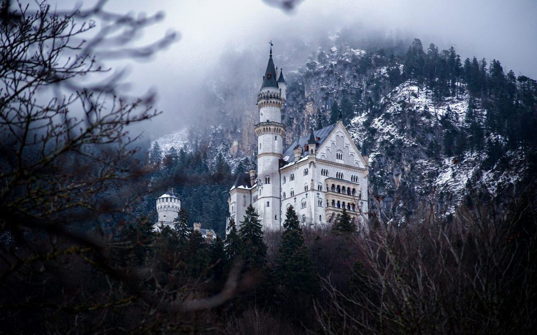 château de Neuschwanstein baviere en hiver