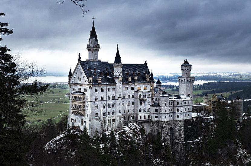 Notre conte de fées en Bavière en hiver