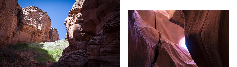 canyon X rochers ciel