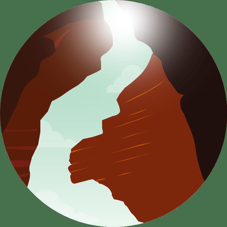 illustration Antelope Canyon