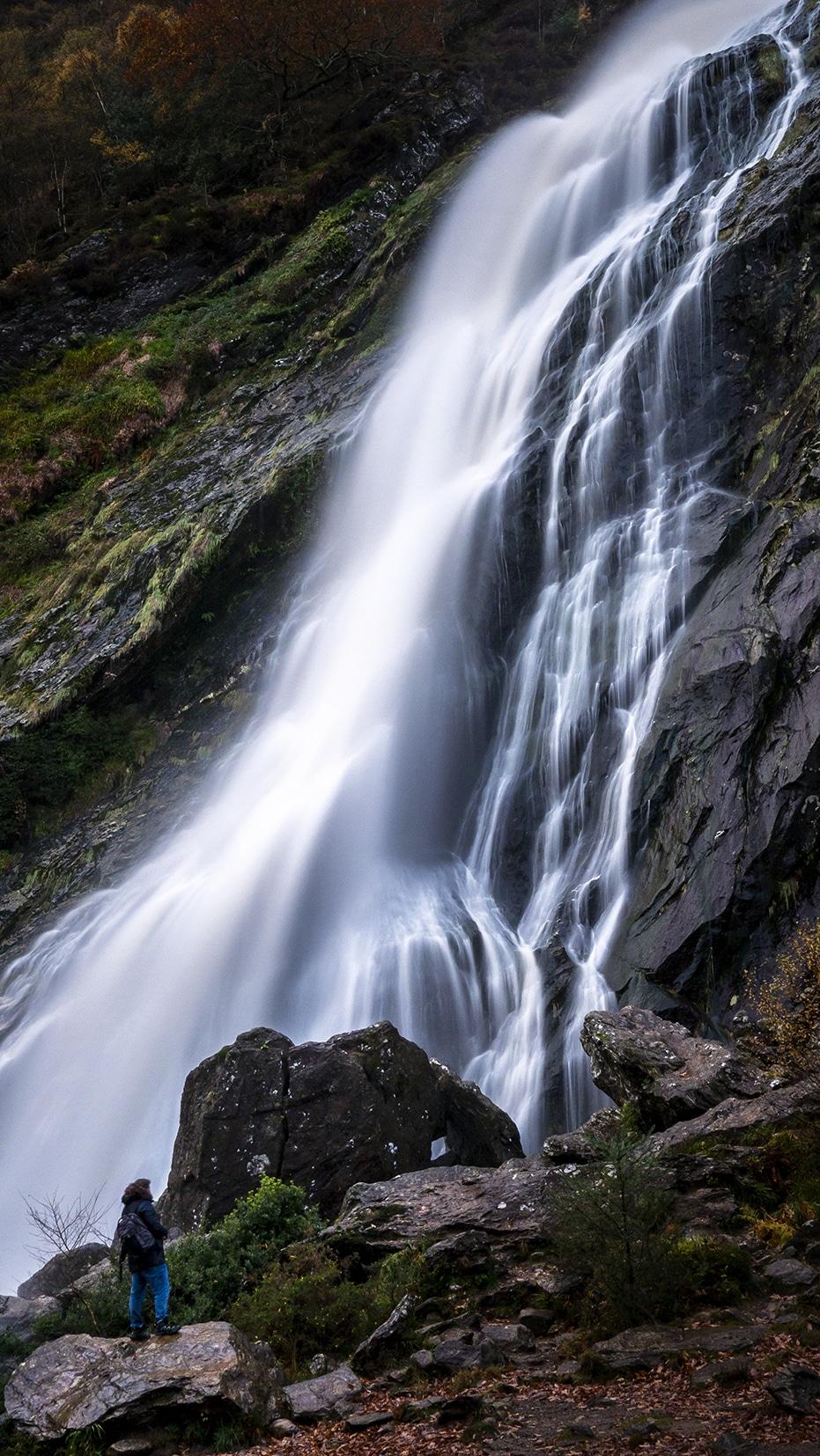 Powerscourt cascade eau Wicklow Mountains