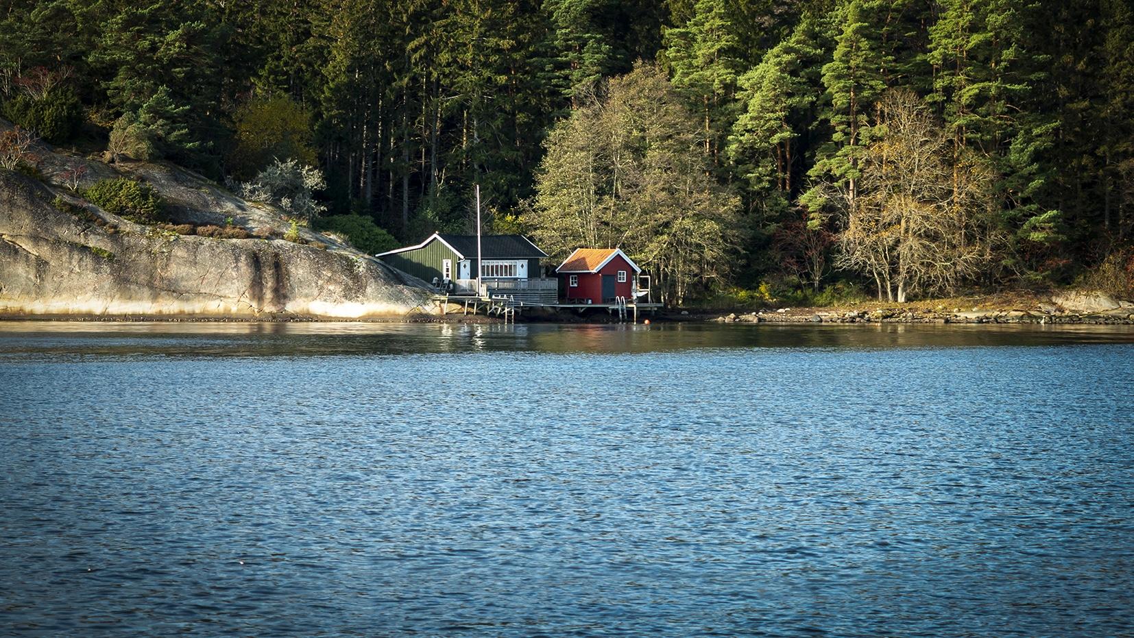 Fjällbacka une semaine en Suède bateau cabanes