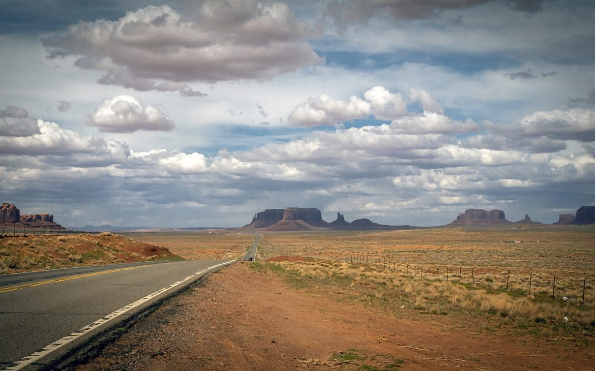 route monument valley USA