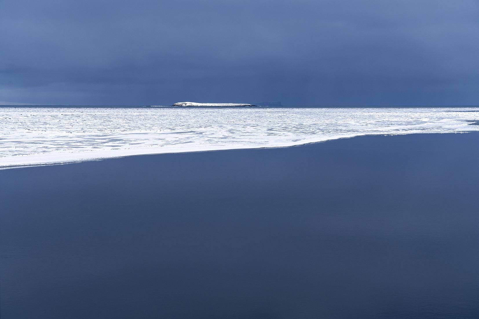 Skagafjördur banquise mer plaque de glace