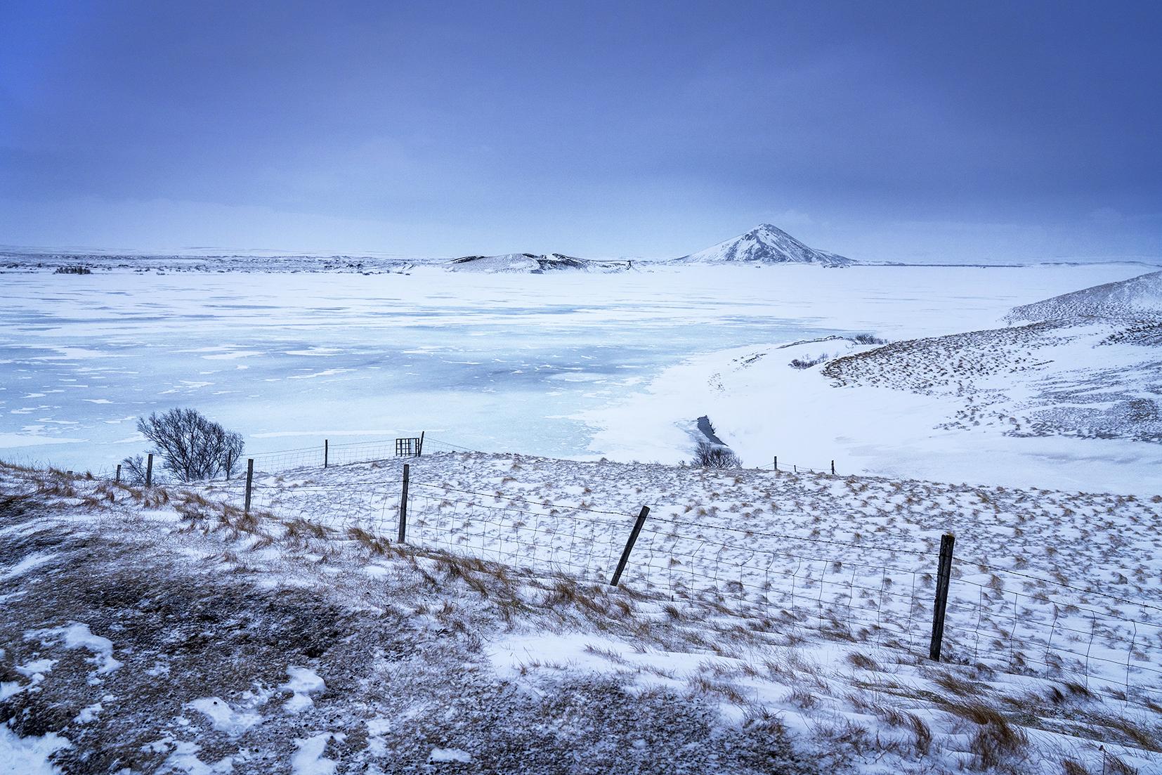 Que faire en Islande volcan neige lac gelé
