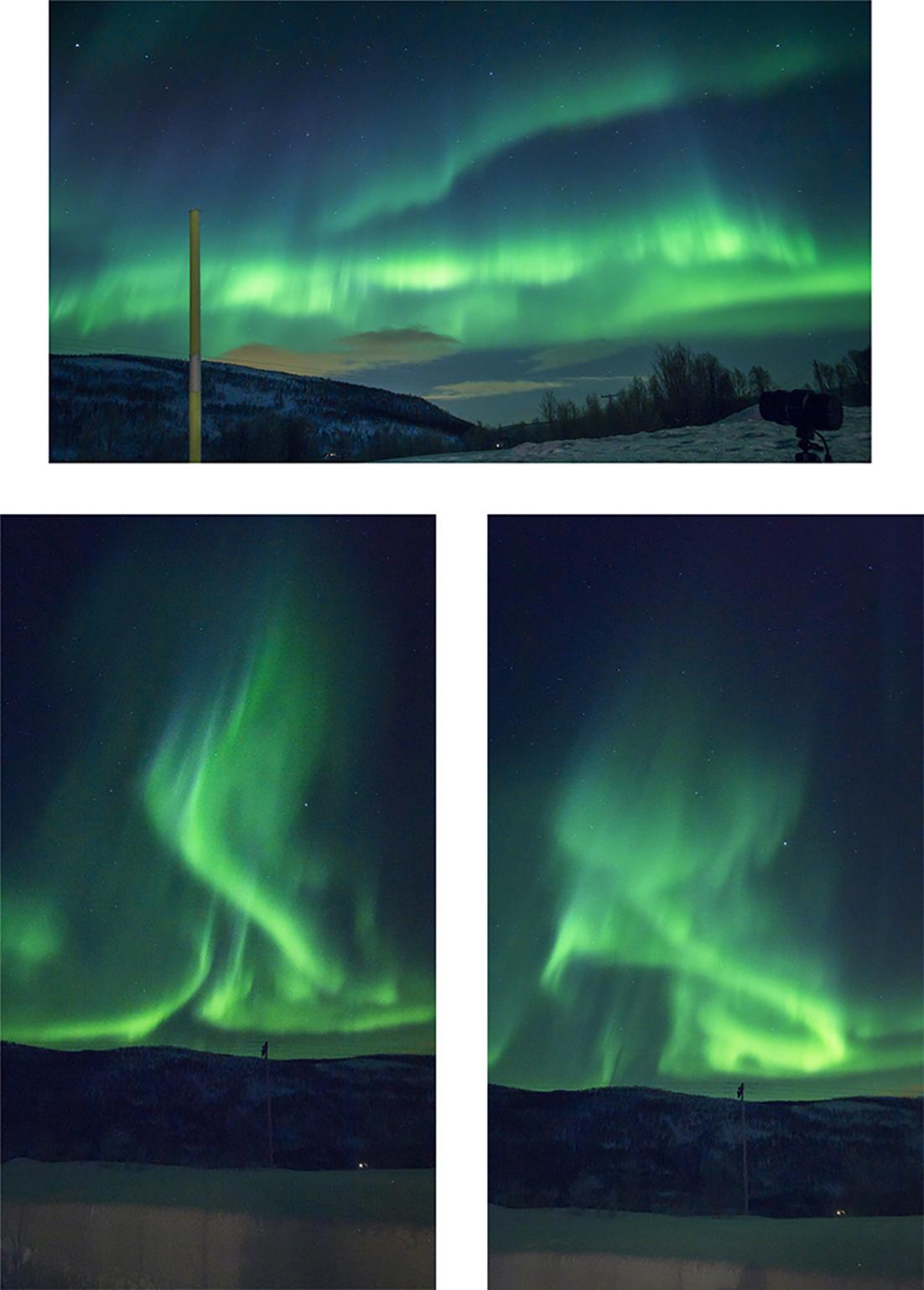 aurores polaires Norvège du Nord