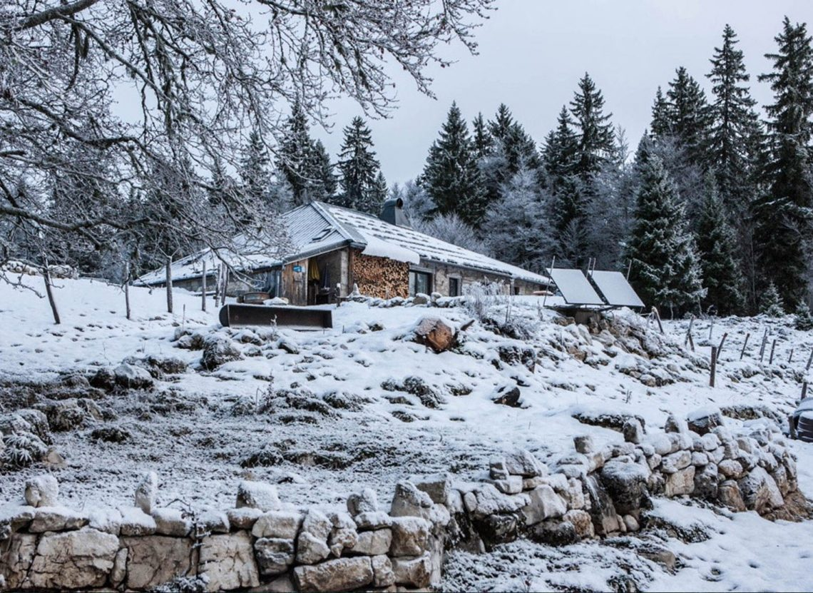 la Burdine chalet d'Alpage Jura neige Blog