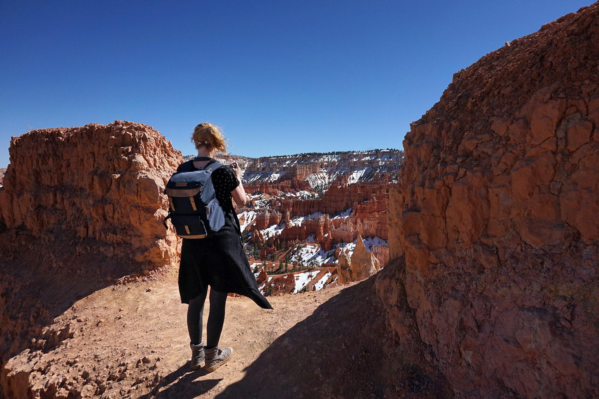 Bryce Canyon lykorne ciel bleu roche